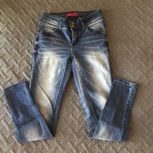 Wax booty sculpting skinny jeans